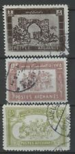 No: 69455 - AFGHANISTAN - LOT OF 3 OLD STAMPS - USED!!