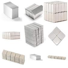 1 25pcs Super Block Magnet Strong Square Neodymium Rare Earth Magnets Muti Size