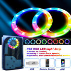 LED Light Strip 5050 RGB Lights Sync Music 8 Colors 400 Effects for PS5 Console