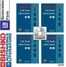 1998 Chevrolet Light Duty C K Truck Shop Service Repair Manual CD