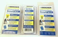 Karcher All Purpose Cleaner Soap Pacs Eco-Friendly Detergent Lot of 36