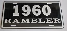 METAL LICENSE PLATE 1960 60 RAMBLER NASH AMC AMERICAN MOTORS 660 440
