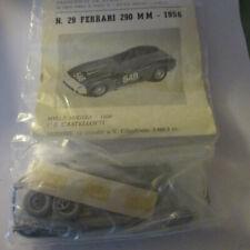 FDS Kit 1:43 Ferrari 290 Mille Miglia 1956 1° class.