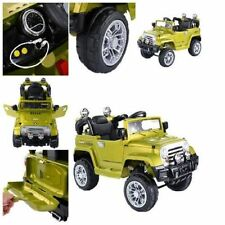 MP3 Kids Ride On Jeep Car RC Remote Control & LED Lights Music Amazing Xmas Gift