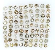 1.00 Cts Lot Natural Loose Diamond Brown Fancy Mix Color Round Shape L16