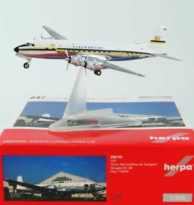 Herpa Wings 556729 1:200 Douglas DC-6 UAT Union Aéromaritime de Transport F-BIAM