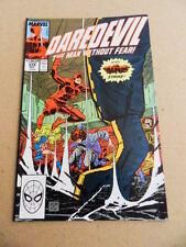 Daredevil  274 . Marvel 1989 -   VF