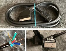 Premium CSYNC RGB SCART Kabel - Nintendo - SNES - N64 - Advanced - NESRGB - Mod