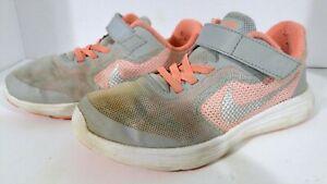 2015 Nike Revolution 3Td Psv, 819417-800, Grey/Pink, US 2Y Eur 33.5