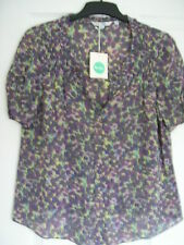 Boden Viscose Casual Floral Tops & Shirts for Women