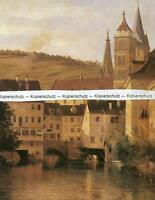Esslingen am Neckar - Nach einem Gemälde von Karl Weysser - um 1870