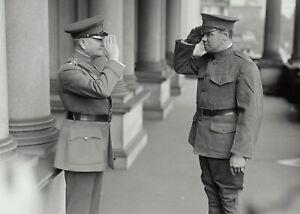 GENERAL JOHN J PERSHING & PRIVATE BABE RUTH-New Enlisted NY National Guard-PHOTO