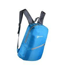 RockBros Fahrradtasche Rucksack Outdoor faltbar Wasserdicht Blau