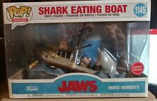 New listing jaws shark eating boat, movie moments funko pop gamestop exclusive