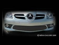Mercedes SLK55 & SLK Sport / AMG Black Bumper Middle Mesh Grille Grill 2005-2008