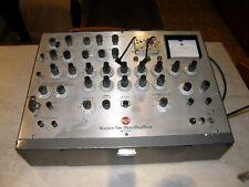 Provavalvole tube tester RCA mod.WT-100A unico introvabile funzionante