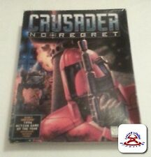 Crusader No Regret In BIG BOX Origin IBM PC DOS CD ROM COMPLETE NICE
