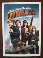Filmplakatkarte / moviepostercard  Zombieland  Jesse Eisenberg