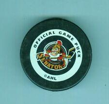 Vintage Binghamton Senators AHL game hockey puck