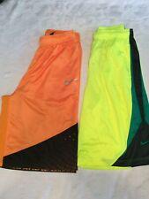 Lot Of 2 Pairs Of Men's Nike Elite Basketball Shorts, Size Xl