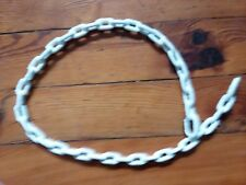Chain White Coated 1/4'' x 4 ft. PVC Greenfield New Old Stock NOS Blem