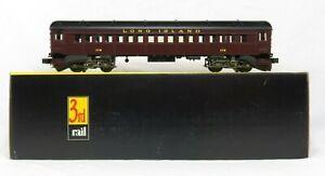 Sunset Models 3rd Rail 178 Brass Long Island P54 Passenger P54 Commuter Car NIB