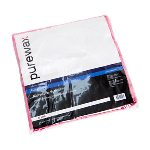 400mm x 400mm Microfibre Cloth 10 Pack