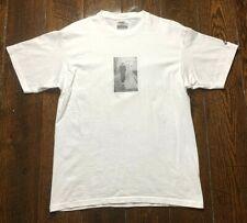 "Vintage EUC Nike John McEnroe ""REBEL WITH A CAUSE"" Shirt - Men's Medium White"