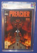 Preacher #1 Comic Book CGC Graded 9.2 First Jesse Custer Tulip AMC Vertigo 1995