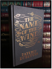 The Name of the Wind ✎SIGNED✎ by PATRICK ROTHFUSS New UK Hardback Limited 1/400