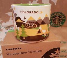 Starbucks Coffee Mug/Becher COLORADO You Are Here/YAH, BRANDNEU m.SKU i.OVP-Box!