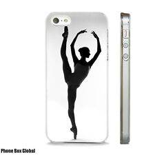 BALLET BALLERINA DANCE  ART CASE FITS IPHONE 4 4S 5 5S 5C 6 6S 7 8 SE PLUS X