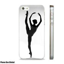 BALLET BALLERINA DANCE  ART CASE FITS IPHONE 4 4S 5 5S 5C 6 6S 7 8 SE PLUS X