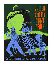 JAMES & THE GIANT PEACH Art Print Poster DISNEY Haunted Mansion DISNEYLAND Dahl