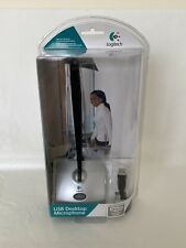 Logitech BRAND NEW USB DESKTOP MICROPHONE 980186-0403 PC MAC COMPATIBLE SEALED
