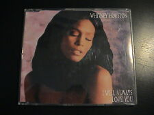 Whitney Houston I WILL ALWAYS LOVE YOU German Import 3-trk CD Single