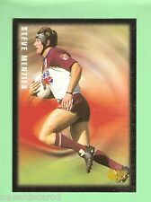 1995 PIZZA HUT RUGBY LEAGUE CARD #7  STEVE MENZIES, MANLY SEA EAGLES