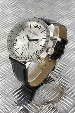 orologio crono-look Jay Baxter cinturino vera pelle-garanzia-nuovo- A2440 C