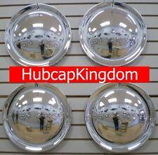 "15"" FULL MOON Chrome Hubcaps Wheelcover SET"