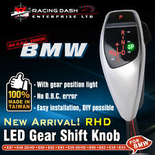 For BMW LED Shift Gear Knob E90 E60 E46 E85 X1 X3 Position light Right HandDrive