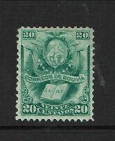Bolivia SC# 22 Mint Hinged / Hinge Rem - S9268
