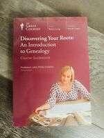 Teaching Co Great Courses  DVDs  DISCOVERING YOUR ROOTS GENEALOGY NEW & SEALED