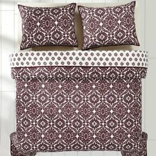 VHC Brands Francesca Wine Quilt set Twin, Queen, King