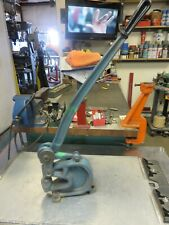 Roper Whitney 16 Bench Punch Roper No 16 Punch Press 16 Diacro 73 Tons
