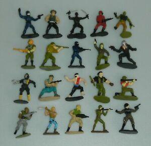 Lot 1988 1989 GI Joe Cobra Mini Micro Figures Figurine Insert Complete Set of 20