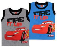 Disney Cars Kinder Jungen Top, kurzarm T-Shirt Gr.92-122 Polo Shirt kurzarm neu