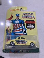 2016 Hot Wheels Captain America '40 Ford Coupe 1/8