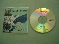 TUNE-YARDS Hey Life promo CD single