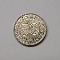 Weimar 1935 J 50 Reichspfennig (MZ419