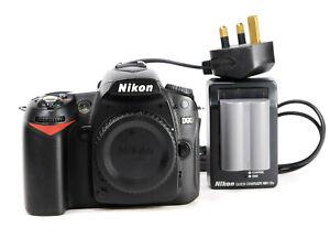 Nikon D90 DSLR Camera Body Only + Generic Battery & Nikon MH-18a Charger - VGC